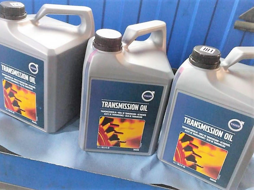 Замена масла в АКПП XC70 оригинальное масло в акпп