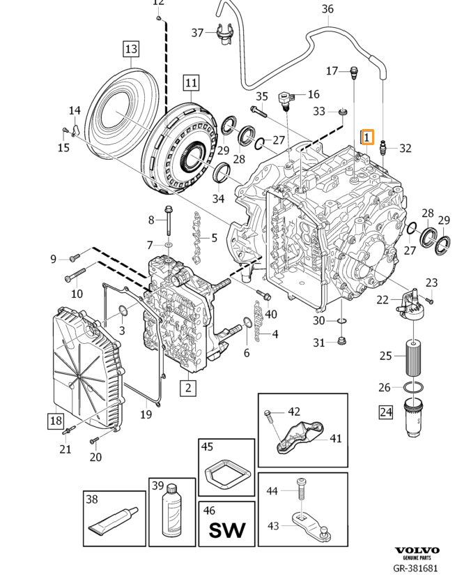 Коробка MPS6